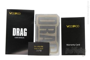Комплектация Voopoo DRAG 157W TC