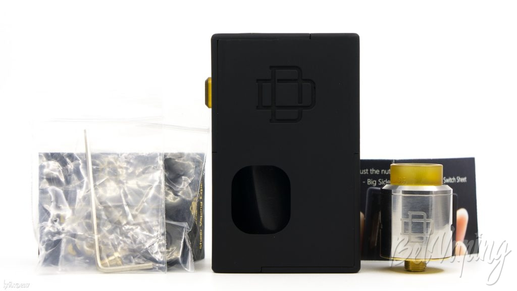 Комплектация Druga Box Squonk Kit