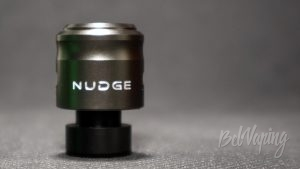 WOTOFO NUDGE RDA - вид с переходником на 510 дриптип
