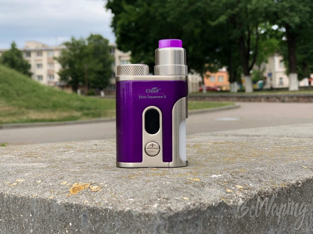Внешний вид набора Eleaf Pico Squeeze 2 with Coral 2