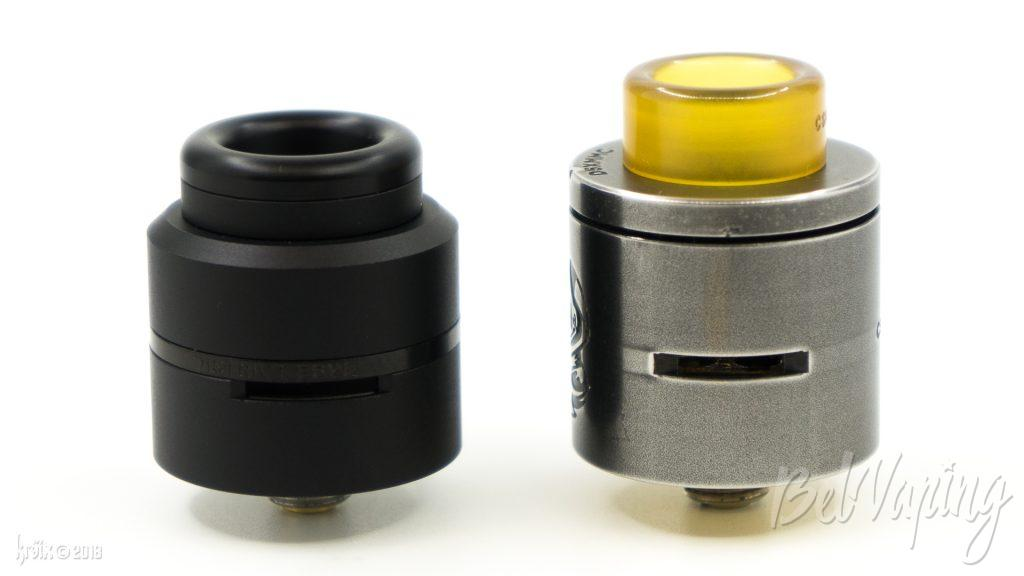 Layercake RDA (слева) и CSMNT RDA by District F5VE