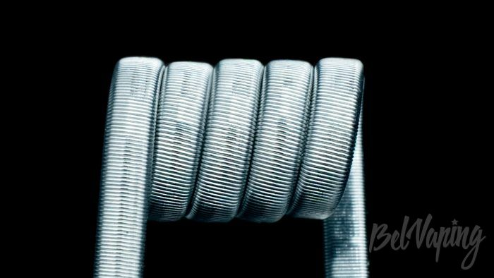 ClearCoils Trople NiCr 3x0.4x0.1