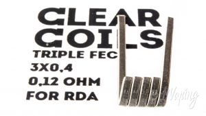 ClearCoils Trople FECL 3x0.4x0.1