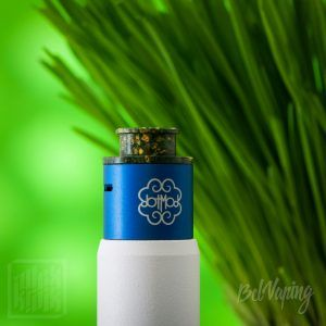 Kupcake (капкейк) 24 мм от OhmyVape на Petri V2 RDA с Conversion Cap 24mm