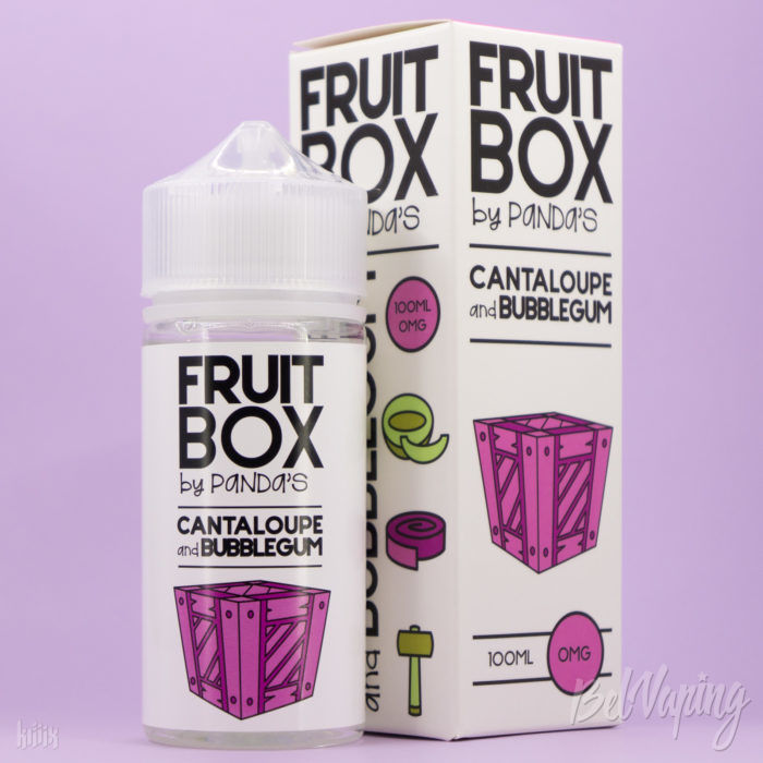 Жидкость Fruit Box - Cantaloupe and Bubblegum от Panda's Juice
